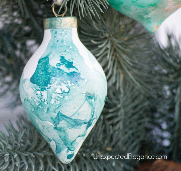 Watercolor Ornaments: These creative handmade ornaments will add a special touch to your Christmas tree this season!