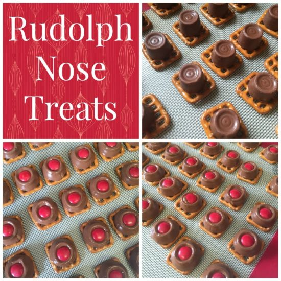 Rudolph Nose Treats: When you head out to your parties, make sure you have some great Christmas Party Food with you!