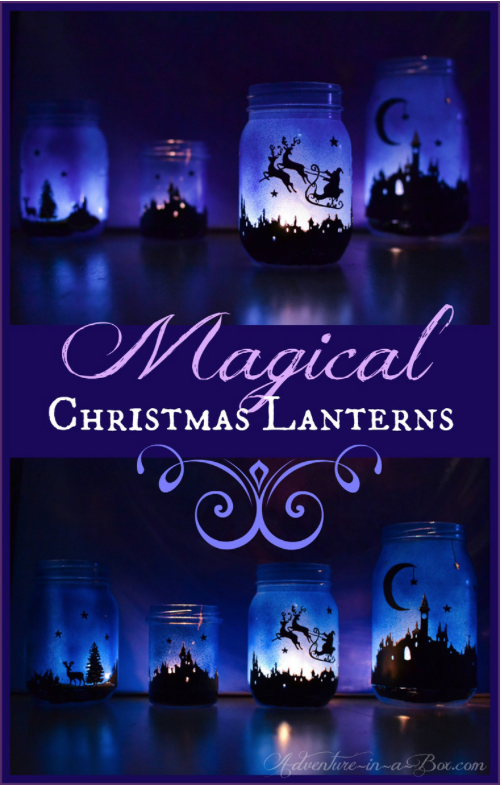 Christmas Lanterns: The holidays are here and there are so many different gift and decor ideas to bring lots of cheer! There are so many Mason Jar Crafts to make this holiday!