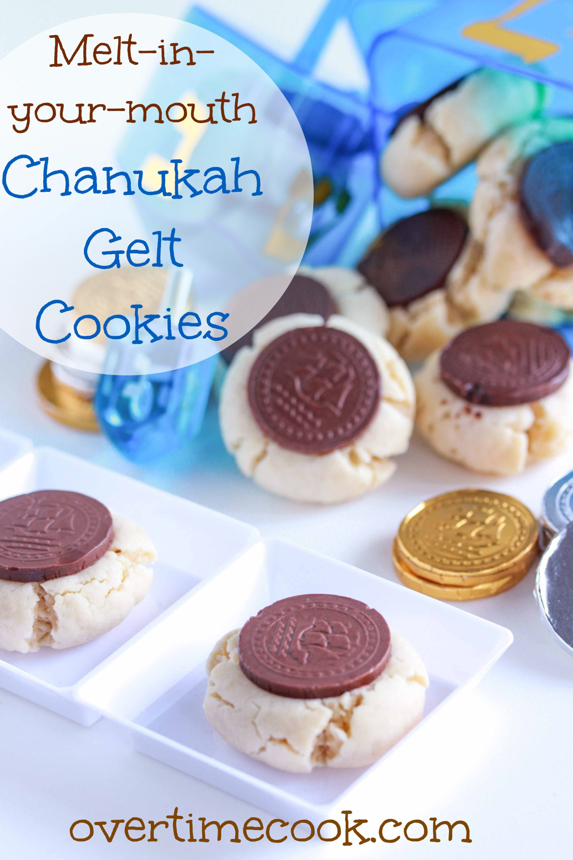 Gelt Cookies: Hanukkah Treats: Whip up one of these traditional treats to celebrate Hanukkah.