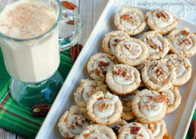 Eggnog is a favorite seasonal drink, but there are so many ways to bake with eggnog!
