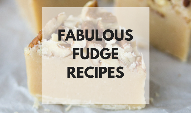 Fudge Recipes that are perfect for the holidays!