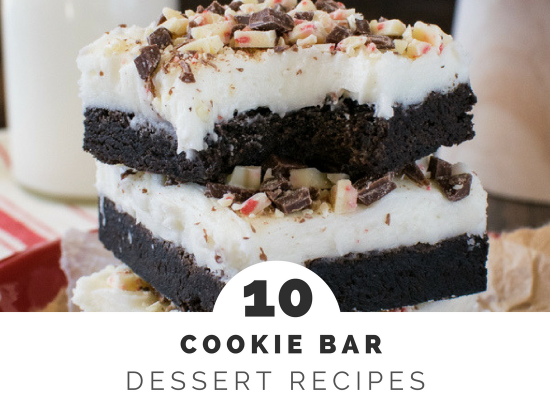 Cookie Bar Recipes