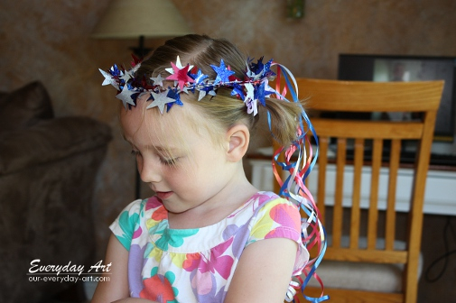 Fourth of July Crafts for Kids: Tiara