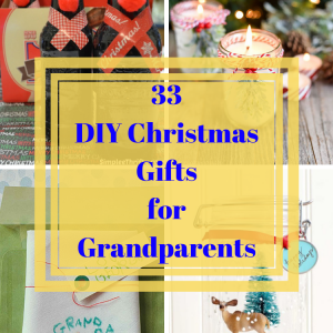 DIY Christmas Gifts for Grandparents