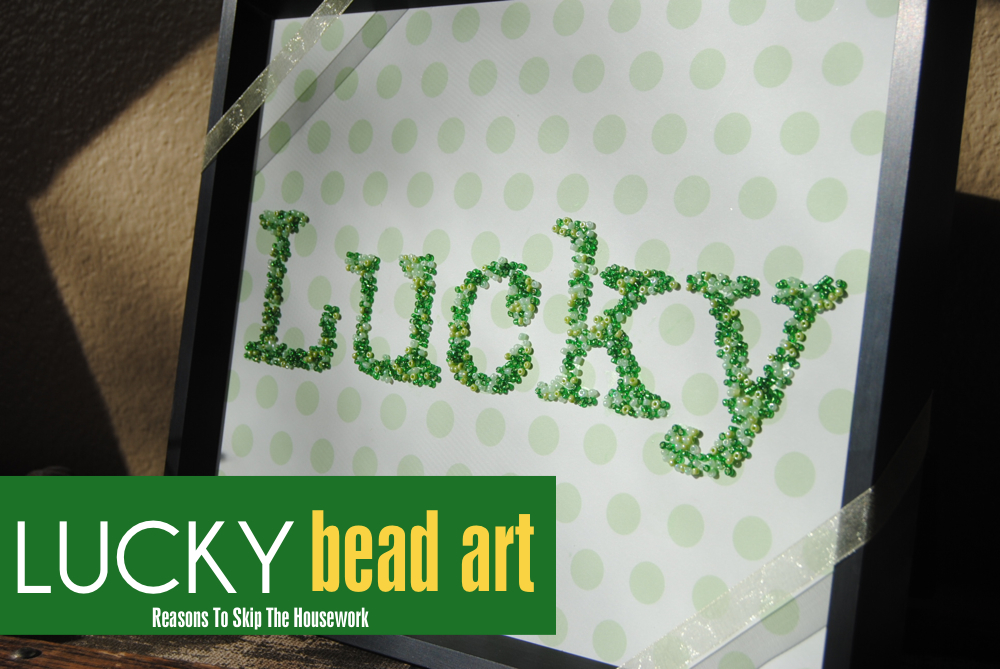 lucky word art