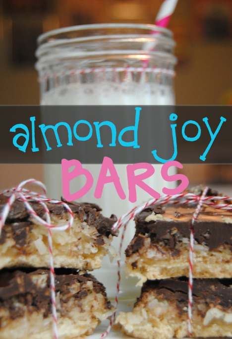 Almond Joy Cookie Bars are simple to make and the perfect sweet treat!