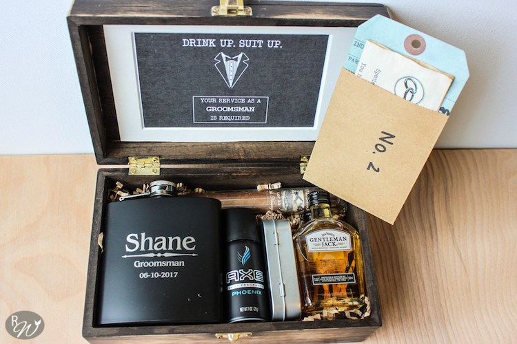 """Be My Groomsman"" Kit of Fun"