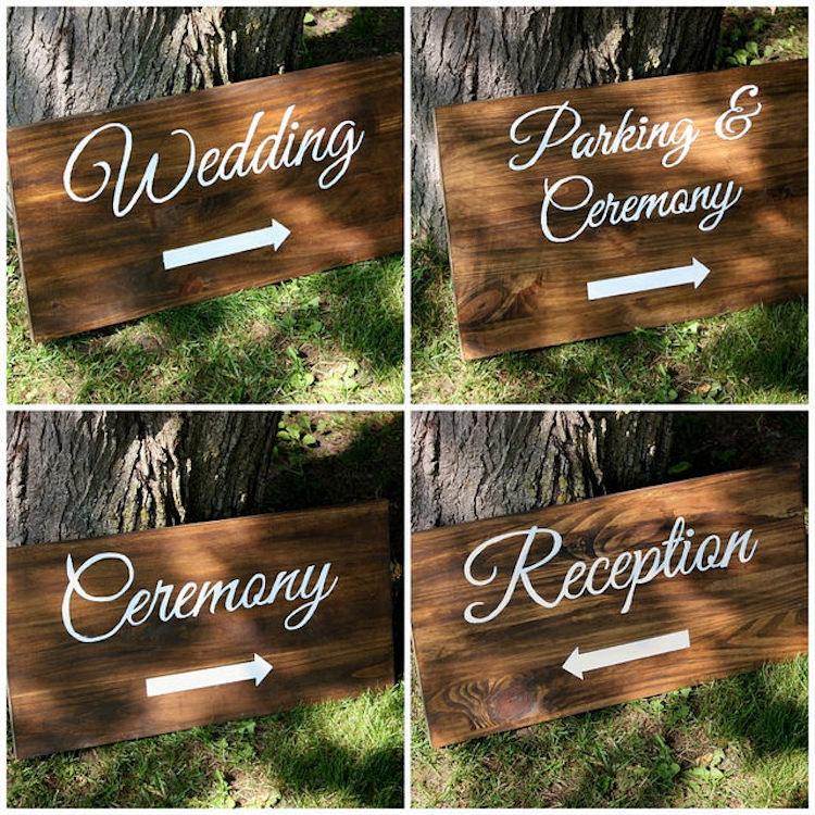 DIY Welcome signs