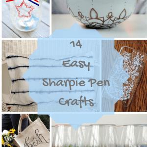 14 Easy Sharpie Pen Crafts