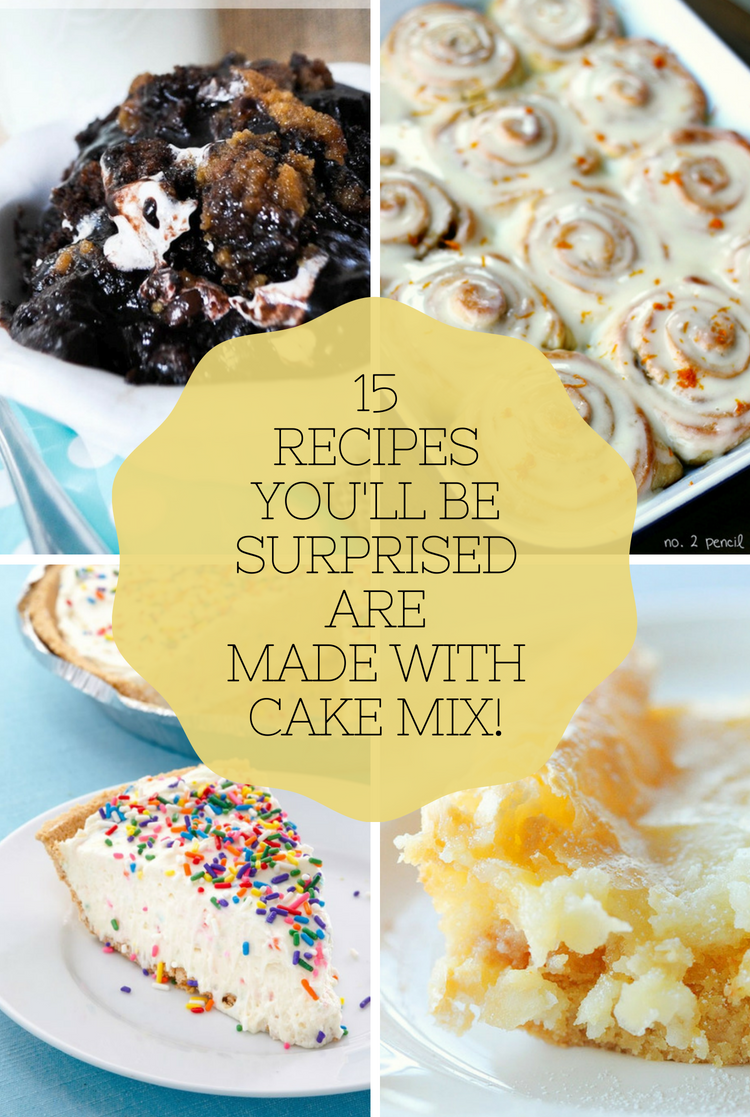Cake Mix Recipes