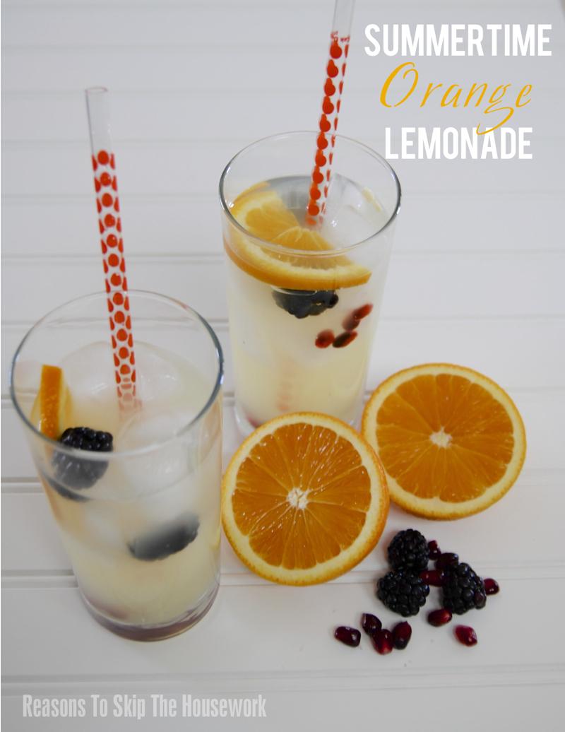 Summertime Orange Lemonade 2