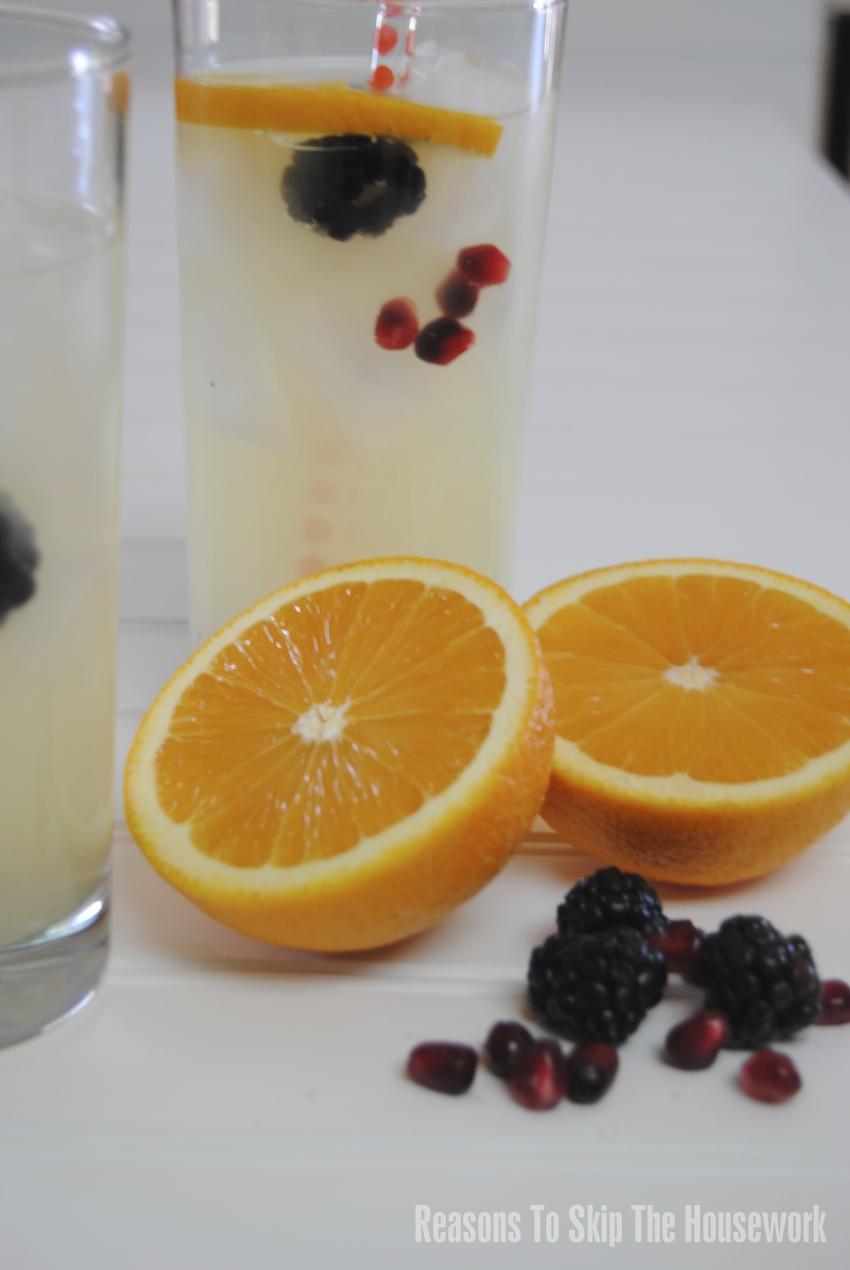 Summertime Orange Lemonade