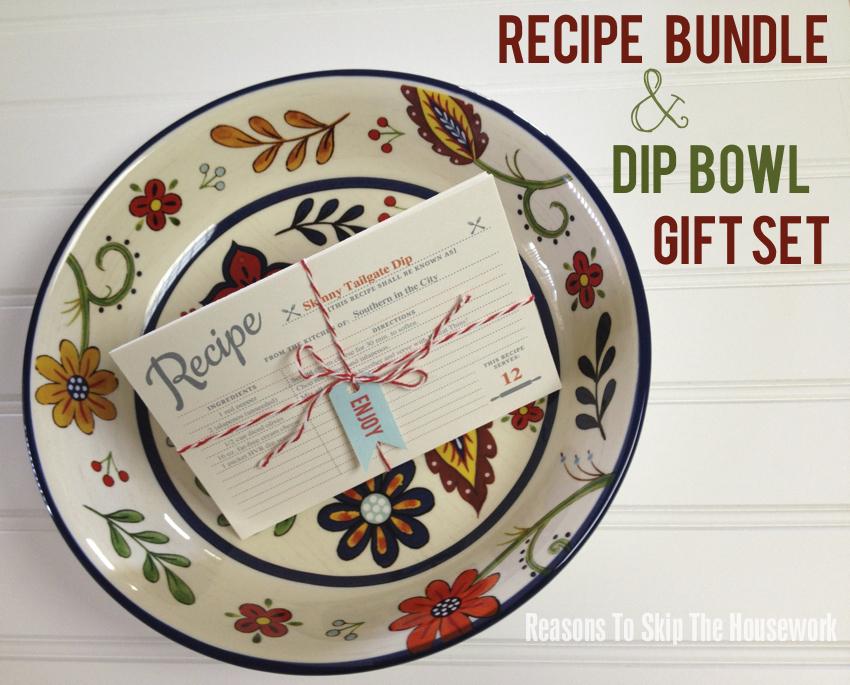 dip bowl gift