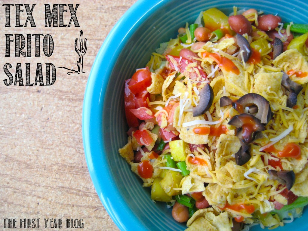 Tex-Mex-Frito-Salad