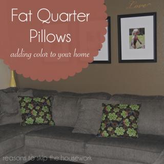 fat quarter pillows 1