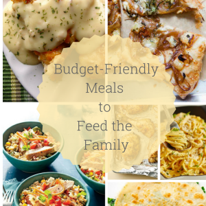 Budget-Friendly Meals to Feed the Family