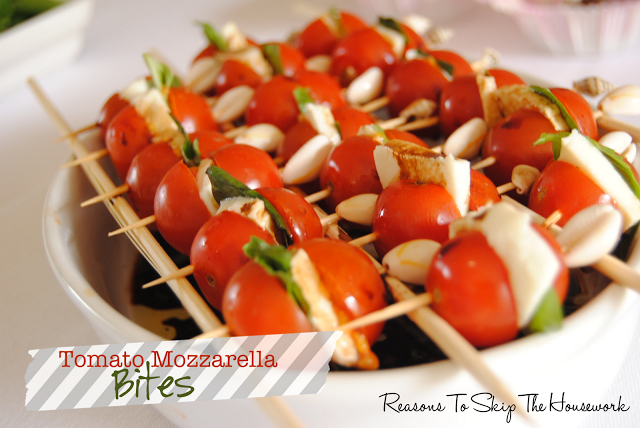 Caprese Bites - Reasons To Skip The Housework