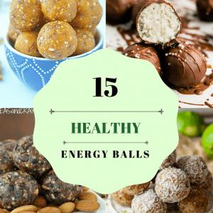 15 Healthy Energy Balls