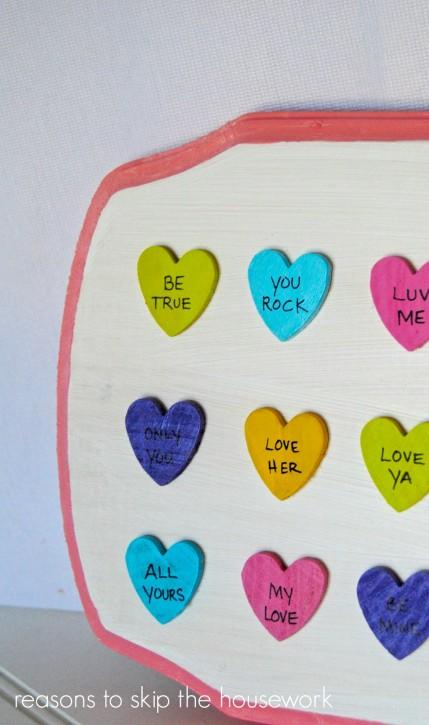 conversation heart art 1