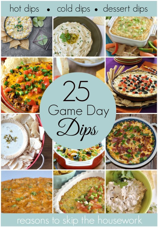 game day dip recipes