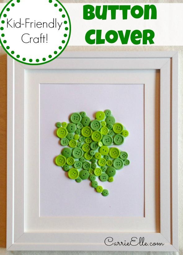Button-Clover-Craft