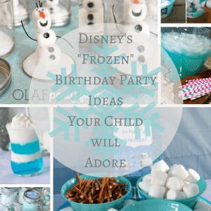 Frozen Themed Birthday Party Ideas