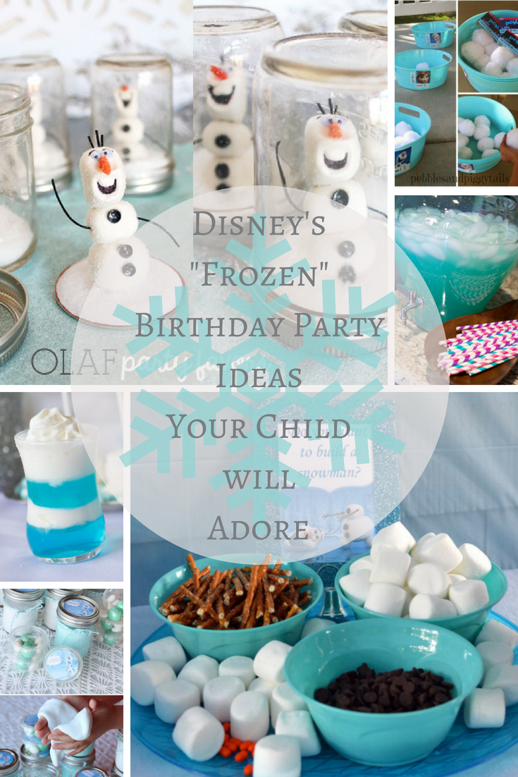 Frozen Themed Birthday Party Ideas
