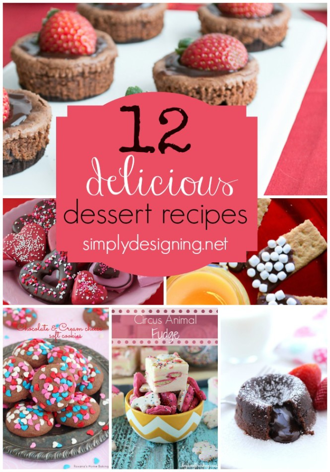 12 Delicious Dessert Recipes | #dessert #recipes