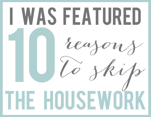 Grab button for SKip The Housework