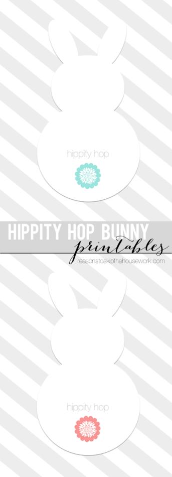 hippity hop bunny printables lead