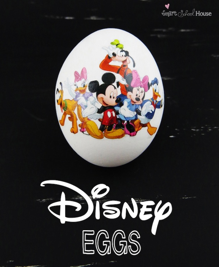 Disney Tattoo Eggs