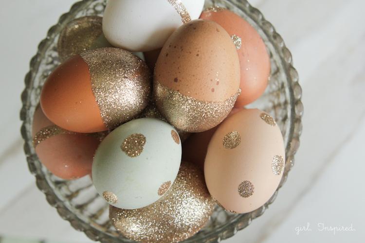 Glitter Easter Egg