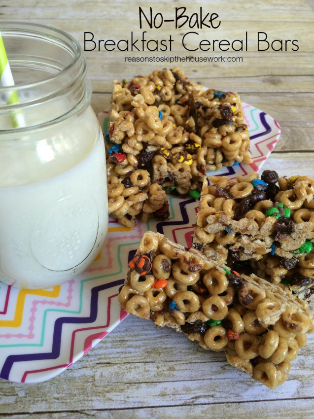 breakfast cereal bar breakfast cereal bars reasons to skip the housework 579