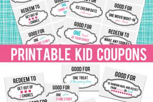 printable kid coupons