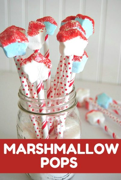 Marshmallow Pops are the perfect festive treat for any holiday!