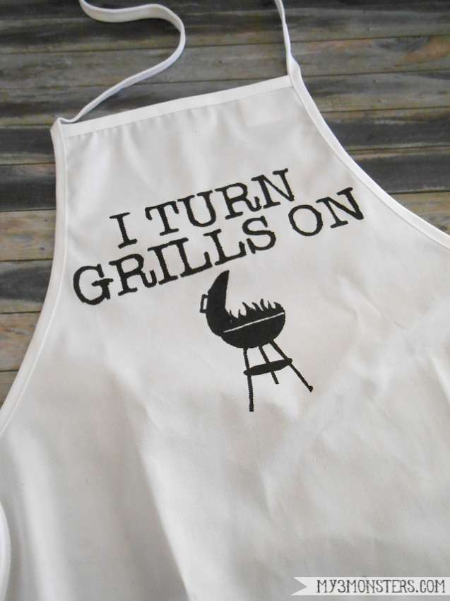 Father's Day Grill Apron 1