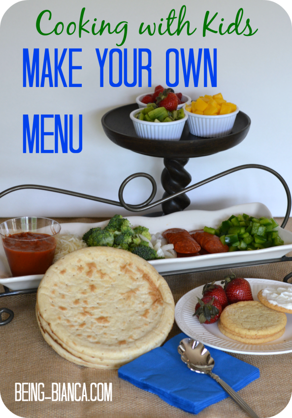 make your own menu cover