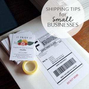 Shipping Tips for Small Businesses