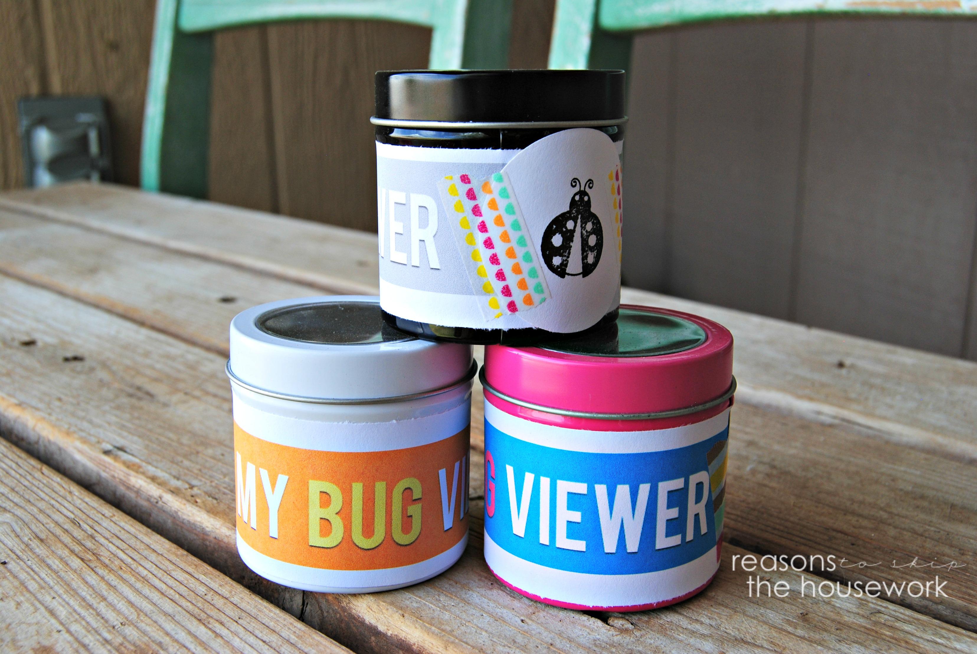 bug viewing jars