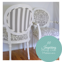 10 Inspiring Dining Chair Makeovers