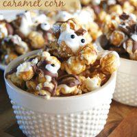 monster caramel corn