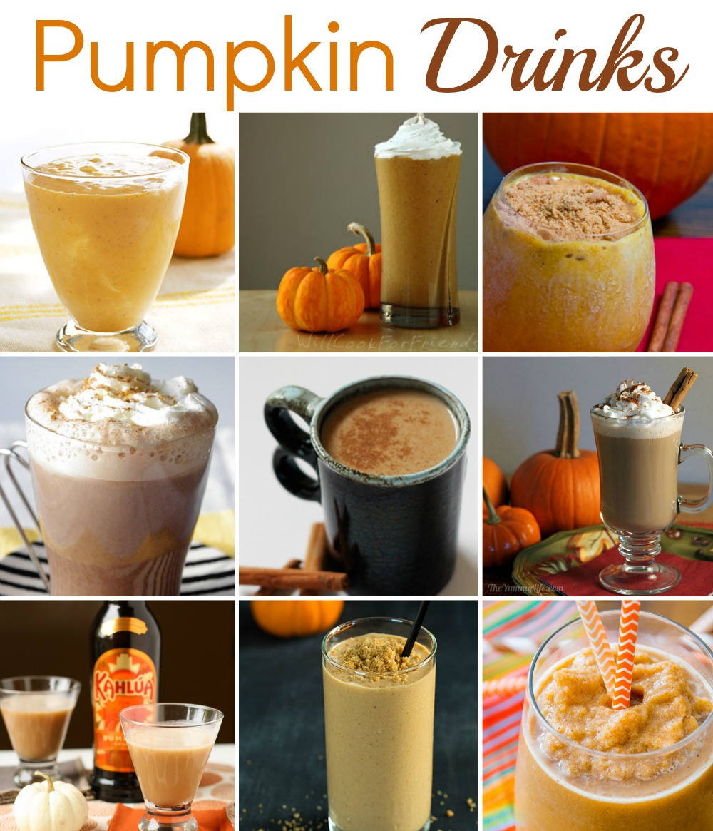 pumpkin drinks