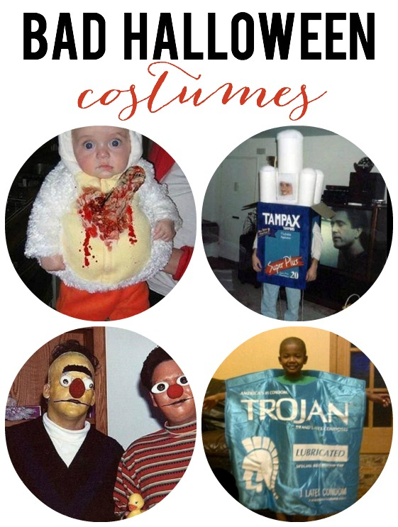 bad halloween costumes