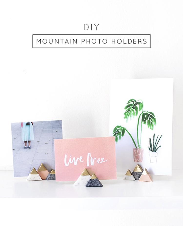 Mini Mountain Picture Holders