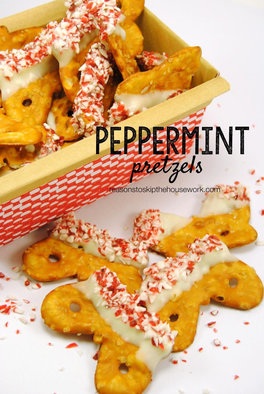 Peppermint Pretzels
