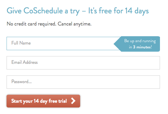 co-schedule free trial