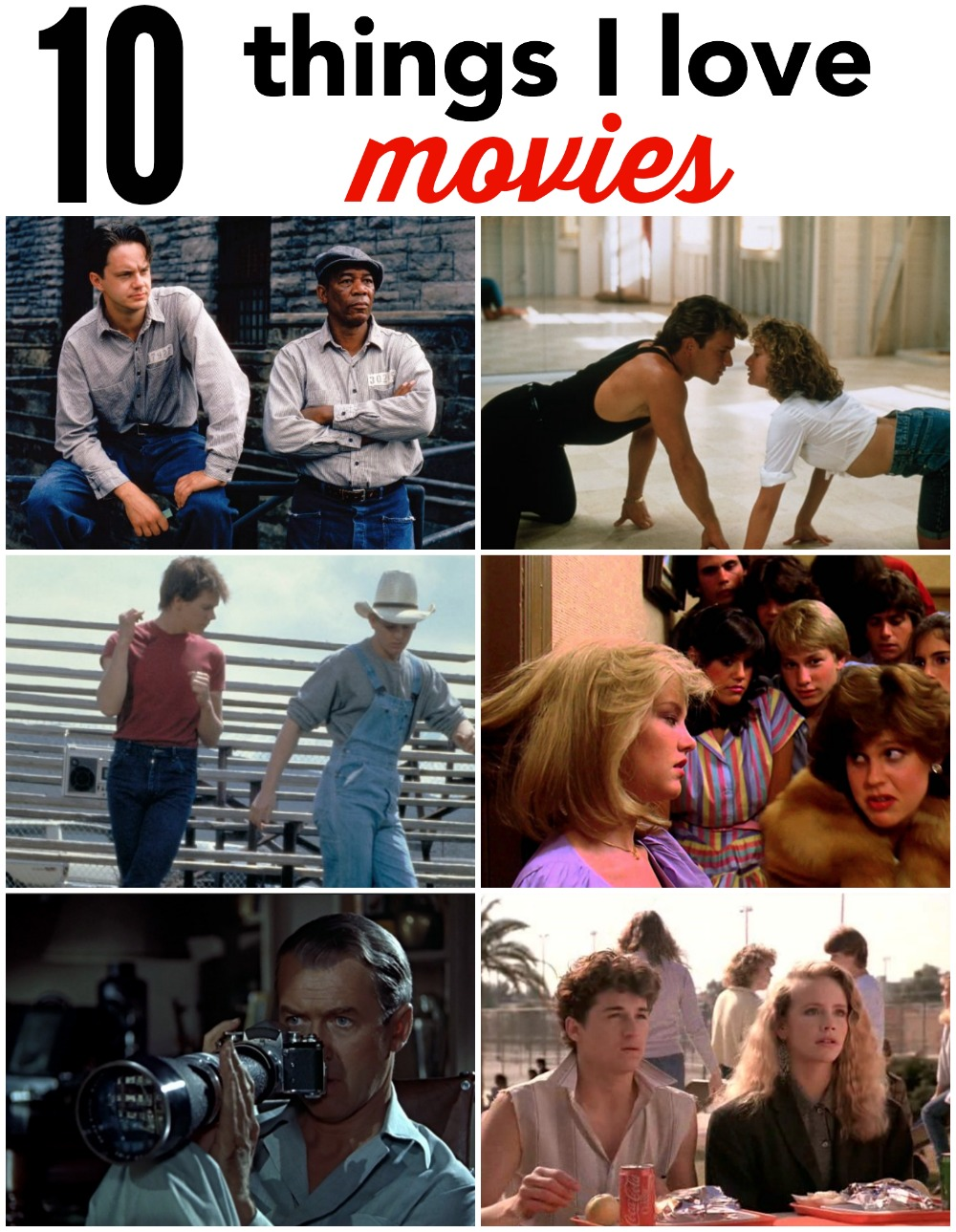 10 things I Love Movies