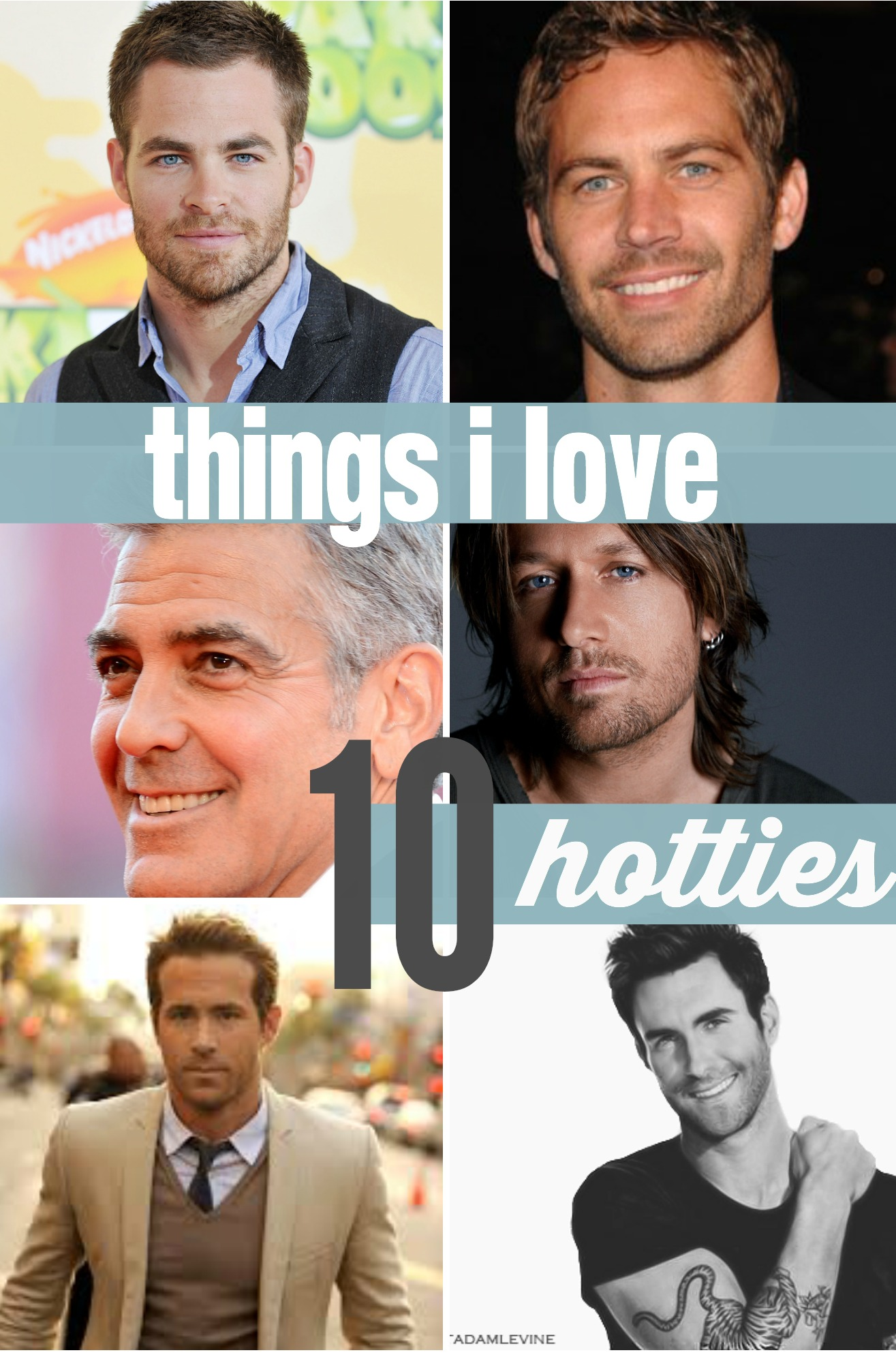 things i love hotties