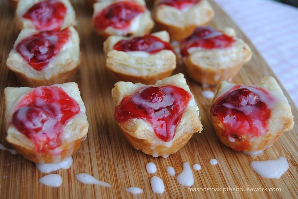 cherry cheese danishes 2